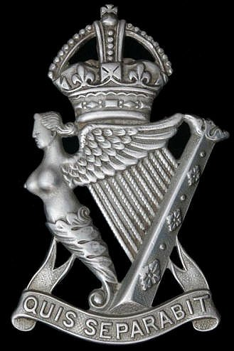 Royal Irish Rifles / Ulster Rifles Cap Bage.