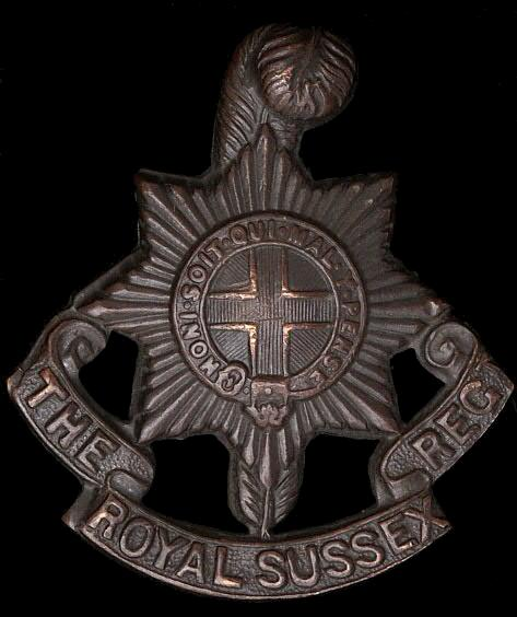 Medals Of The Royal Sussex Regiment