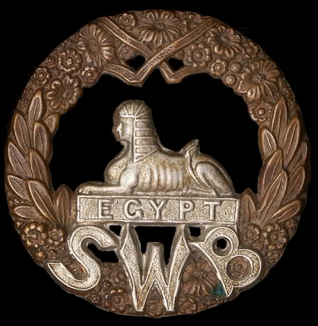 Medals of the South Wales Borderers